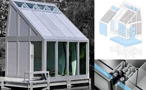 Cửa sổ chứa nước giúp điều hòa nhiệt độ trong nhà