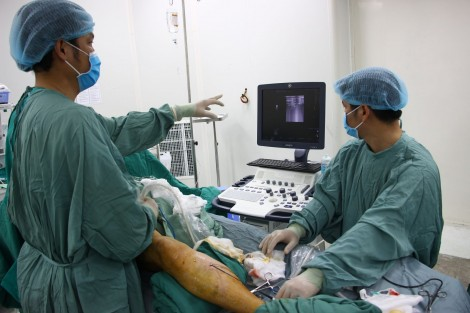Đốt sóng cao tần điều trị miễn phí cho bệnh nhân suy giãn tĩnh mạch