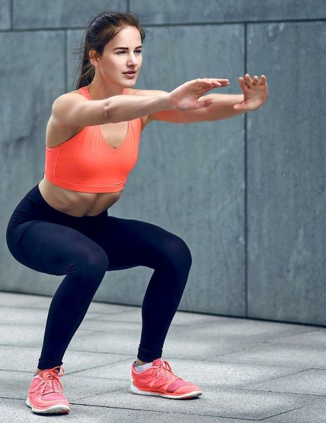 Tập Squat giúp tăng sức khỏe và tuổi thọ