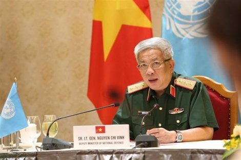 Nâng cấp độ sẵn sàng Đội Công binh Việt Nam tham gia gìn giữ hòa bình