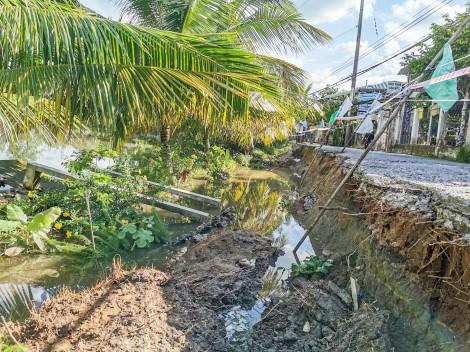 TP Cần Thơ thiệt hại trên 14 tỉ đồng do sạt lở bờ sông