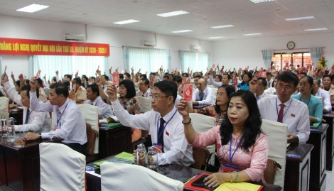 Khai mạc Đại hội Đại biểu Đảng bộ quận Ninh Kiều