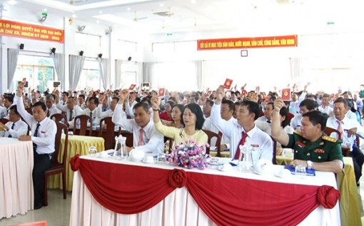 Khai mạc Ðại hội Ðại biểu Ðảng bộ quận Thốt Nốt