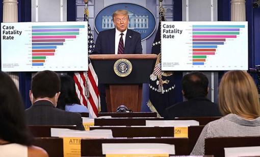 Ông Trump đổi giọng về COVID-19