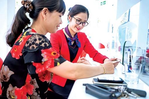 Bước tiến mới của ngân hàng Việt