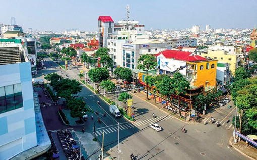 Sustainable urban development adapting to climate change in Mekong Delta