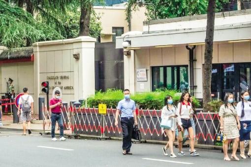 Trung Quốc đóng cửa  lãnh sự quán Mỹ tại Thành Đô