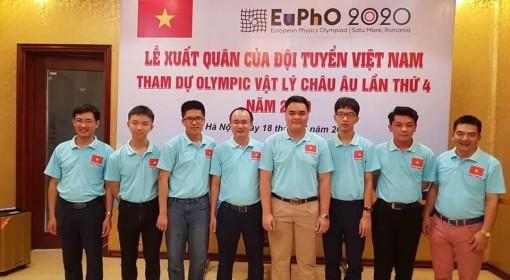 Việt Nam xuất sắc đoạt huy chương vàng Olympic Vật lí châu Âu