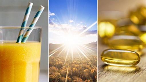 Dung nạp đủ vitamin D giúp ích  cho việc phòng chống COVID-19