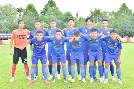 Bóng đá Vĩnh Long với mục tiêu trở lại giải chuyên nghiệp