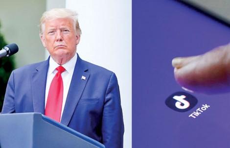 Ông Trump cấm TikTok, WeChat