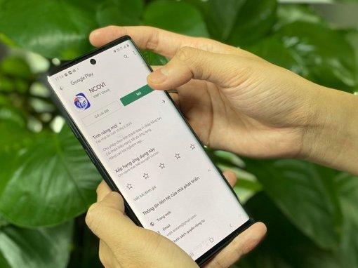Sử dụng ứng dụng NCOVI và Vietnam Health Declaration để hỗ trợ ngành y