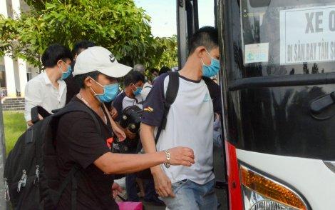 198 công dân về từ Indonesia, Brunei hoàn thành cách ly tập trung