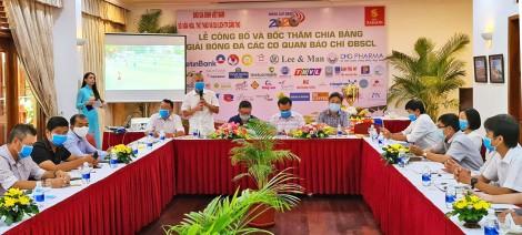 10 đội tham dự Giải bóng đá  các Cơ quan Báo chí ĐBSCL 2020