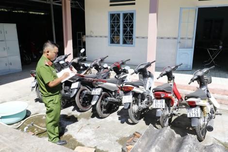 Triệt phá băng nhóm trộm xe máy