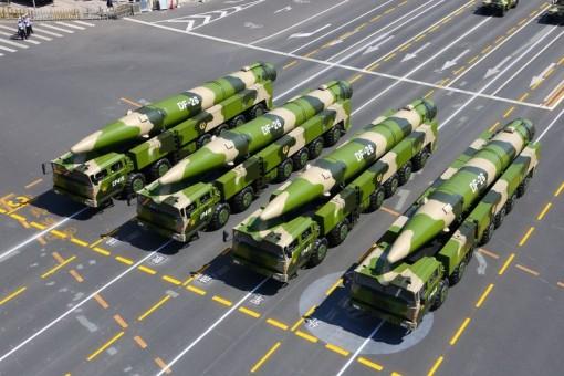 Mỹ lo Trung Quốc tăng mạnh đầu đạn hạt nhân