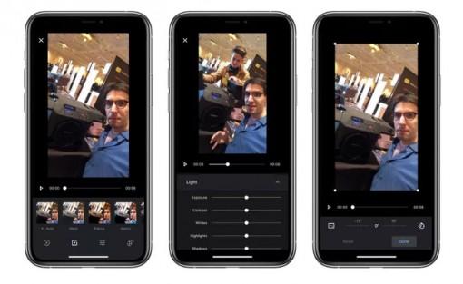 Ứng dụng Ảnh trên điện thoại iPhone đã có thể cắt clip và thêm bộ lọc cho video