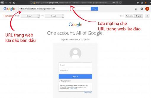 Cảnh giác với cách lừa đảo mới chiếm đoạt tài khoản Gmail và Facebook