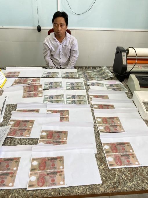Khởi tố, tạm giam 2 bị can sản xuất tiền giả