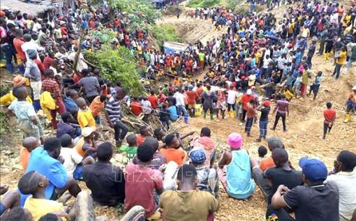 Ngập lụt hầm mỏ làm 50 người chết tại CHDC Congo