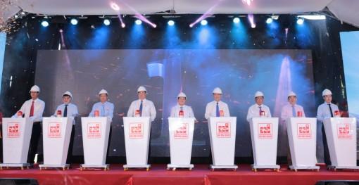 Tập đoàn Sao Mai khởi động lắp đặt thiết bị Nhà máy điện mặt trời Sao Mai giai đoạn 2