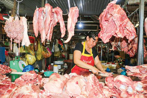 Đề nghị ổn định giá thịt heo