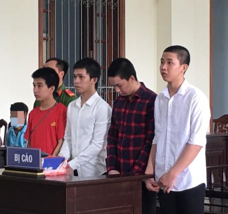 Đánh chết người, 4 bị cáo lãnh án