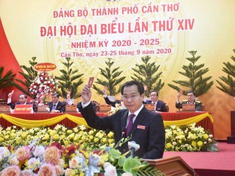 Đồng chí Lê Quang Mạnh được bầu giữ chức vụ Bí thư Thành ủy Cần Thơ nhiệm kỳ 2020-2025