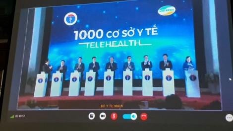 Khánh thành kết nối 1.000 cơ sở y tế khám chữa bệnh từ xa