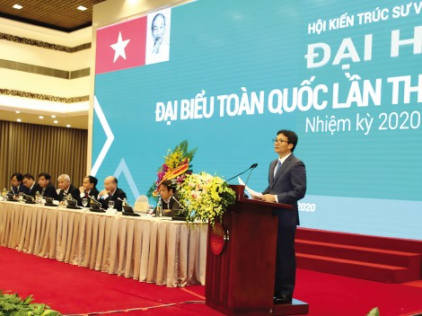 Phó Thủ tướng Vũ Đức Đam:  Kiến trúc Việt Nam từng bước hội nhập vững vàng với thế giới