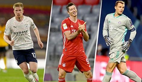 """Đề cử """"Cầu thủ xuất sắc nhất năm"""" của UEFA"""