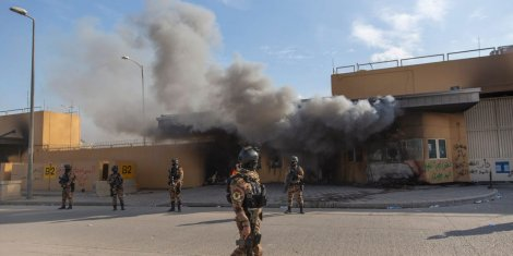 Mỹ dọa đóng cửa đại sứ quán ở Iraq