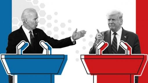 """Trump - Biden """"đấu khẩu"""""""