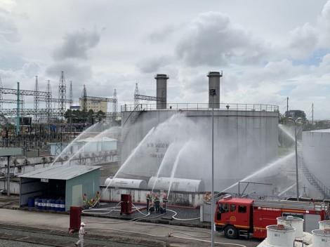 Diễn tập phòng cháy chữa cháy và cứu nạn cứu hộ tại Nhà máy Nhiệt điện Cần Thơ