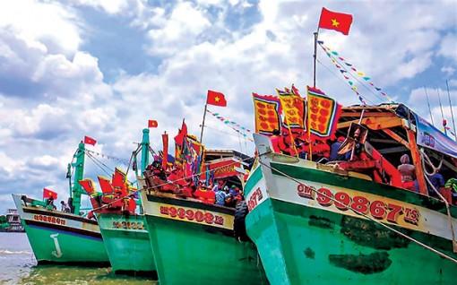 Không gian biển trong Lễ hội nghinh Ông ở Tây Nam Bộ