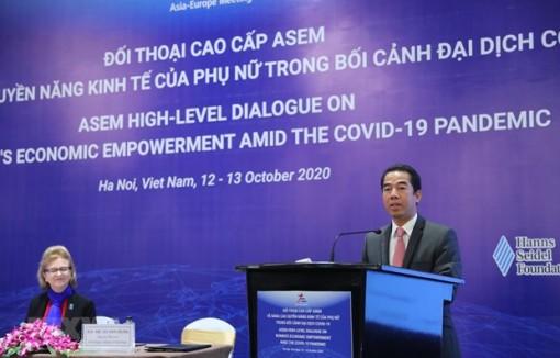 ASEM dialogue promotes women's economic empowerment amid COVID-19