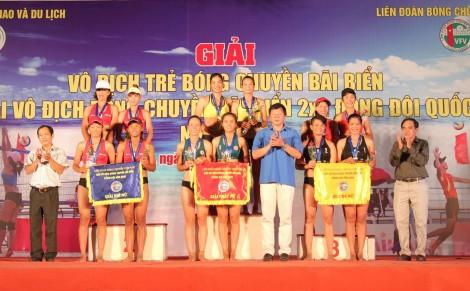 Bế mạc 2 giải Bóng chuyền bãi biển tại Cần Thơ