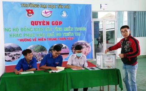 Tuổi trẻ Cần Thơ phát động quyên góp ủng hộ đồng bào miền Trung