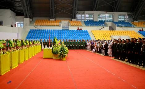 Lễ viếng và truy điệu 22 cán bộ, chiến sĩ Đoàn Kinh tế - Quốc phòng 337 hy sinh khi giúp dân khắc phục hậu quả mưa lũ