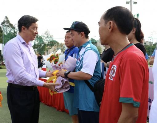 Khai mạc Giải Bóng đá các cơ quan Báo chí ĐBSCL - Press Cúp ĐBSCL năm 2020