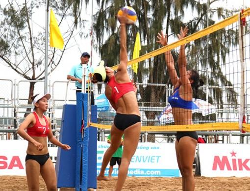Khởi tranh môn Bóng chuyền bãi biển Đại hội Thể thao ĐBSCL lần thứ VIII năm 2020