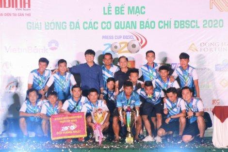 Đội Đài Phát thanh Truyền hình Sóc Trăng vô địch