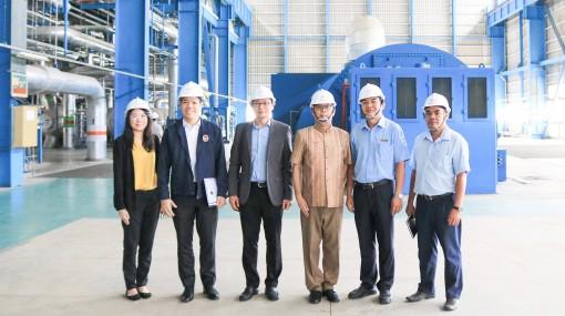 Tổng lãnh sự quán Thái Lan tại TP. HCM  đến thăm Nhà máy Nhiệt điện Ô Môn I