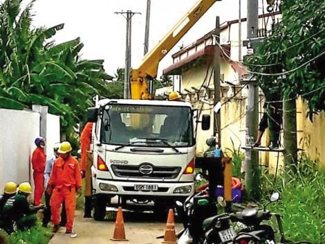Đảm bảo cung ứng điện cho hoạt động sản xuất kinh doanh