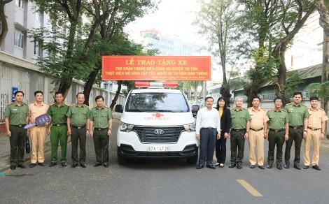 """An Giang: Ra mắt mô hình """"Cấp cứu người bị tai nạn giao thông"""" tại huyện Tri Tôn"""