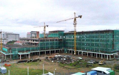 Đề nghị đẩy nhanh tiến độ xây dựng bệnh viện