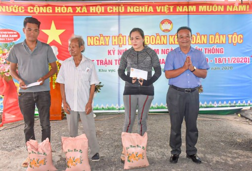Ngày hội Đại đoàn kết toàn dân tộc ở khu vực 4, phường Bùi Hữu Nghĩa