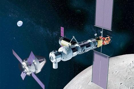 Mỹ, châu Âu hợp tác đổ bộ lên Mặt trăng