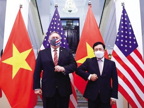 Ngoại trưởng Mỹ thăm Việt Nam