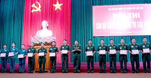 Nâng cao chất lượng giảng dạy chính trị trong lực lượng vũ trang